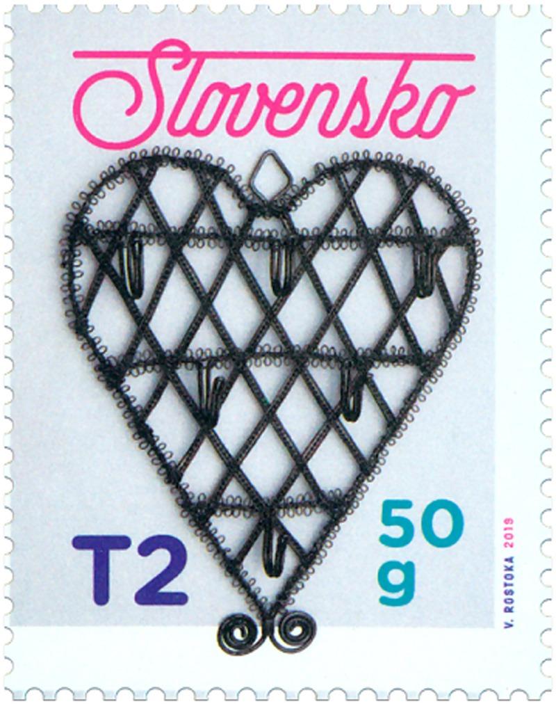 Drotárstvo na poštovej známke Vianoce 2019