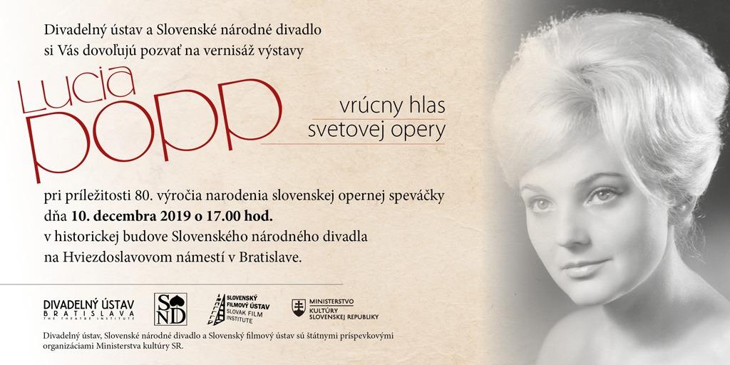 Lucia Popp Pozvánka