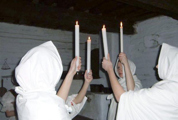 Lucie v meste Cadca, čarovanie s ohňom