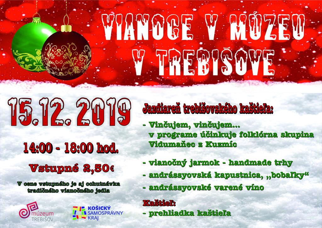Vianoce vmúzeu vJazdiarni trebišovského kaštieľa3