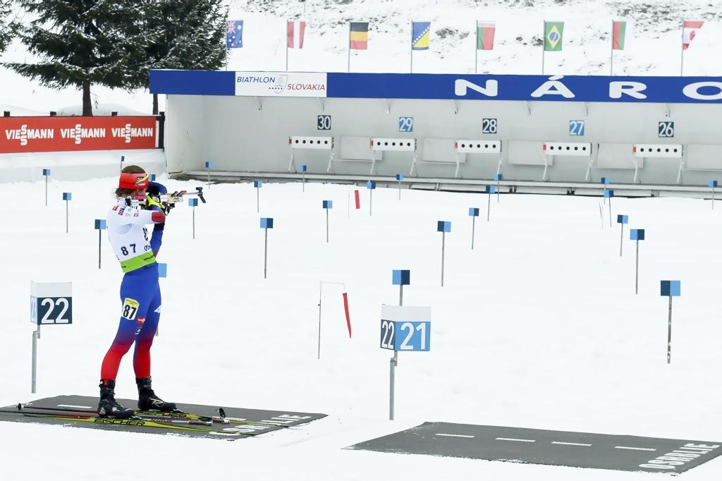 Biatlon v Osrblí IBU pohár 2020