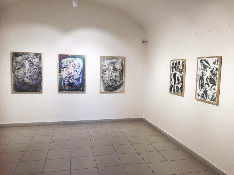 Oravská galéria, Jarosław Kweclich, pohľad do výstavnej siene