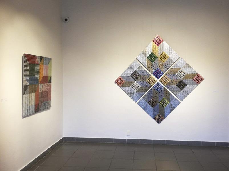 Oravská galéria, Milan Sokol, pohľad do výstavnej siene