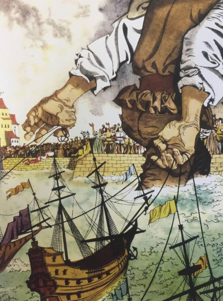Príbehy Vincenta Hložníka, Gulliverove Cesty (Jonathan Swift), Mladé Letá, Bratislava, 1959