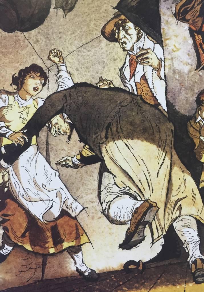 Príbehy Vincenta Hložníka, V Príhodách Olivera Twista (Charles Dickens), Mladé Letá