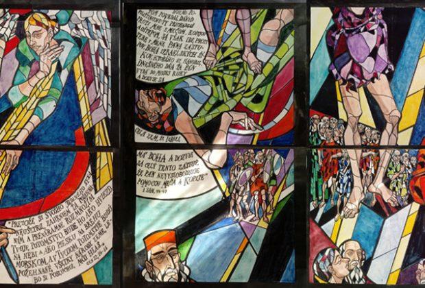 Príbehy Vincenta Hložníka, Vitrazne Okna