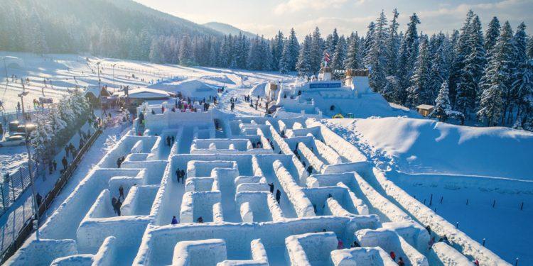 Snehový labyrint v Zakopanom, Vysoke Tatry