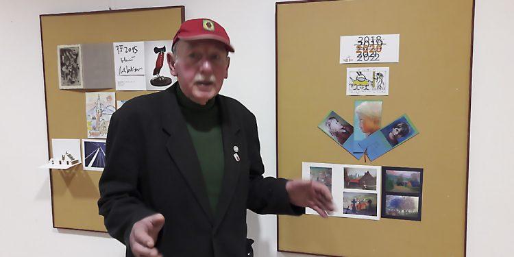 Výstava pohľadnice a pozdravy