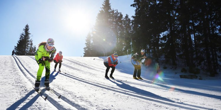 Bežecké lyžiarske trate, Štrbské pleso