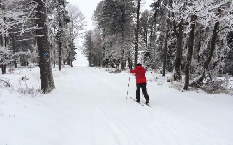 Bežecké lyžiarske trate VOLOVSKÉ VRCHY