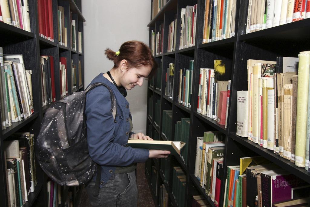 Deň otvorených dverí v Považskom múzeu v Žiline, knižnica