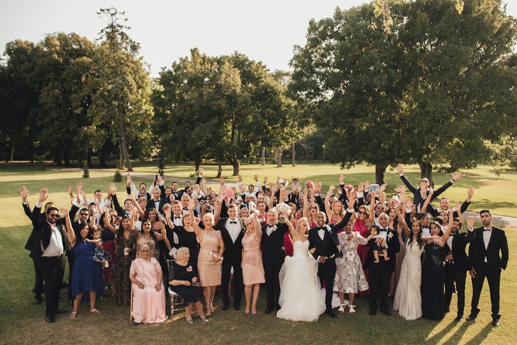 Dokonaly svadobný deň cez agenturu, rodina