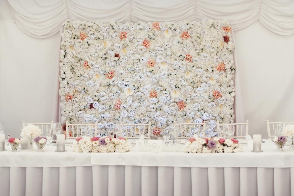 Dokonaly svadobný deň cez agenturu, stolovanie