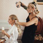 Dokonaly svadobný deň cez agenturu, vlasy