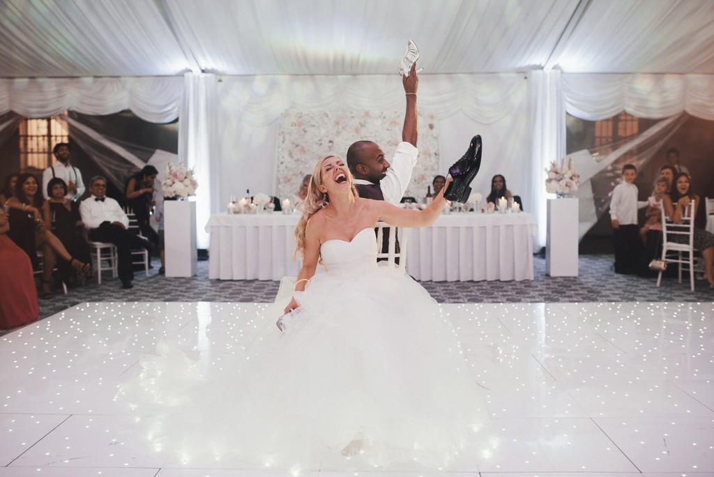 Dokonaly svadobný deň cez agenturu, zabava