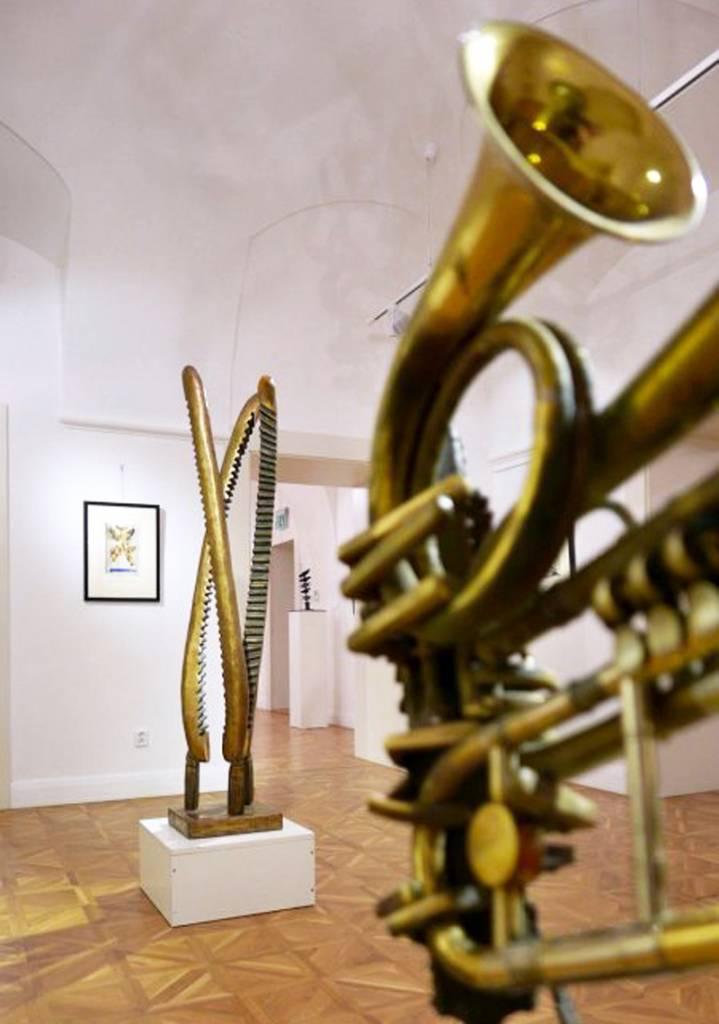 Milan Lukáč Sochy obrazy