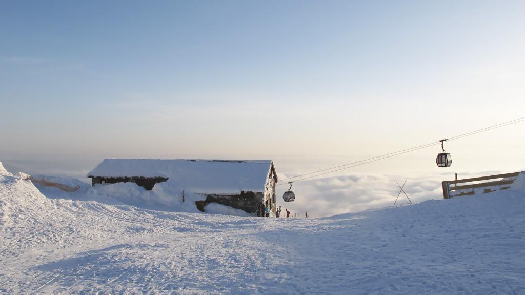 Skialpinizmus v lyžiarskych strediskách, chopok