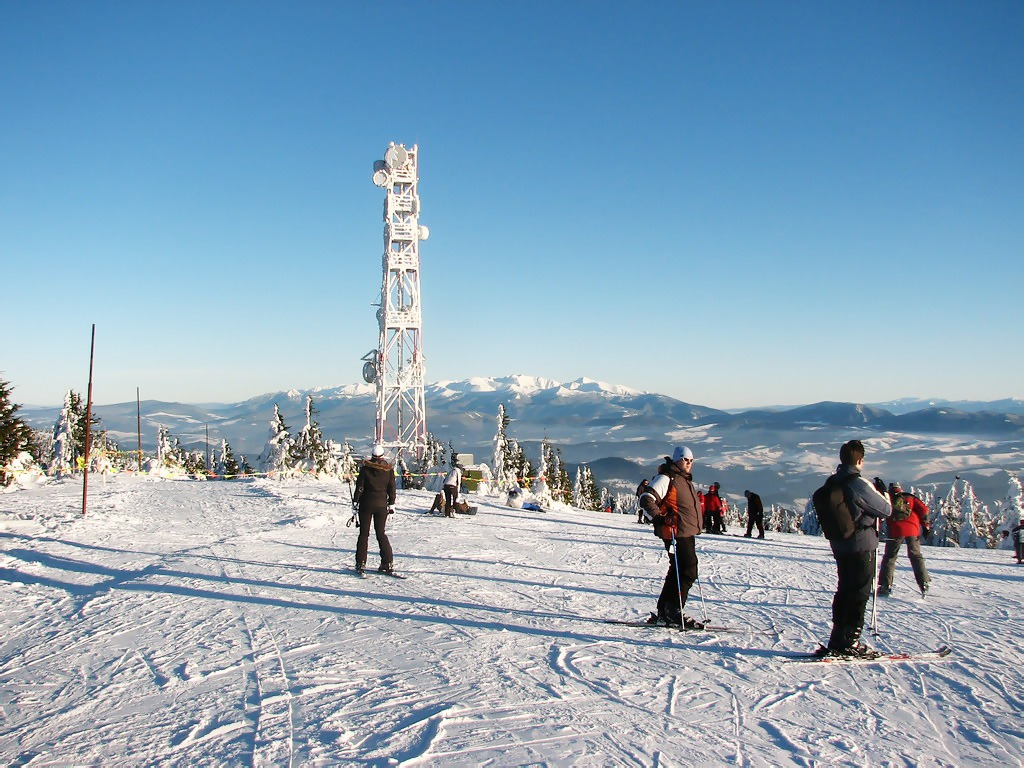 Skialpinizmus v lyžiarskych strediskách, kubinska hola