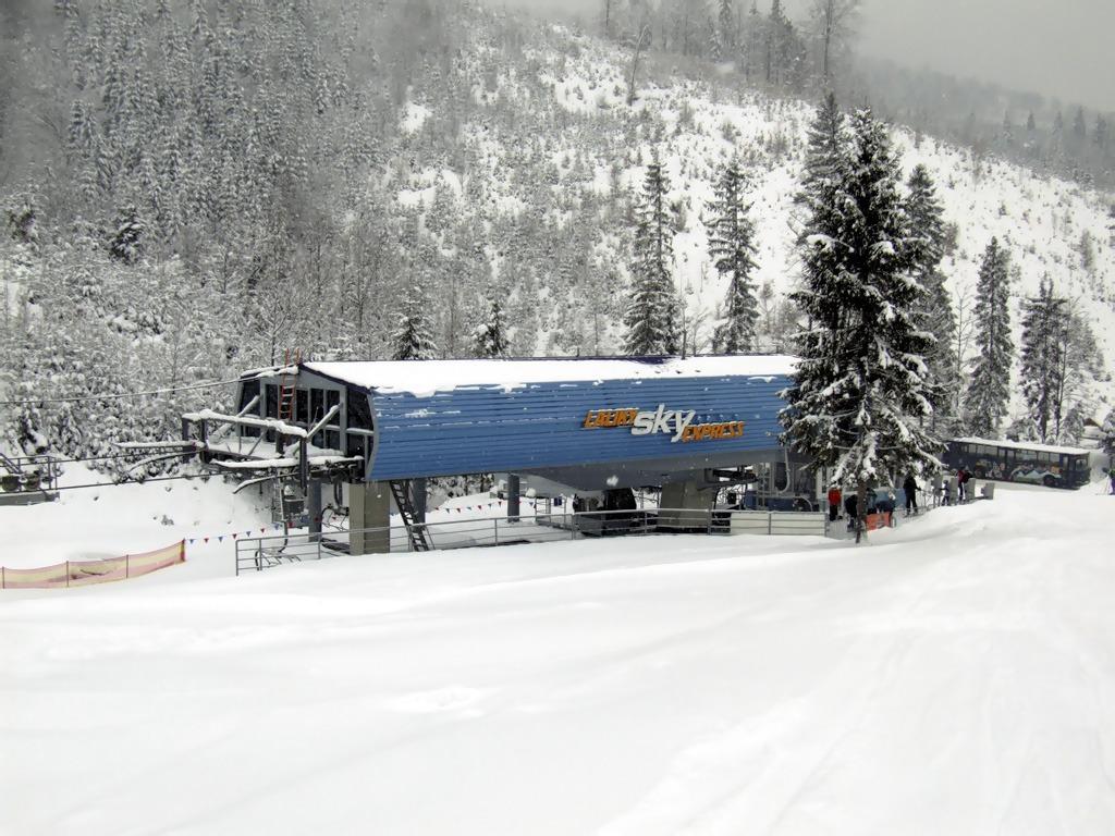 Skialpinizmus v lyžiarskych strediskách, snowparadise velka raca