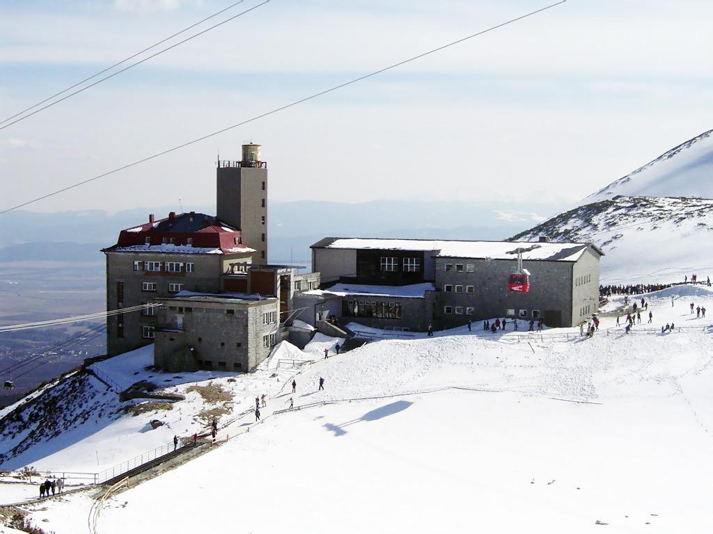 Skialpinizmus v lyžiarskych strediskách, vysoke tatry