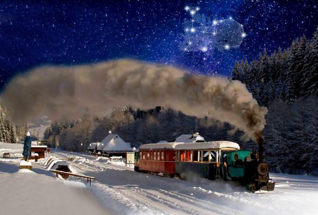 Spestrite si pobyt na Horehroní výletom astrovlakom a nočným pozorovaním hviezd, Čiernohronská železnička, astrovlak