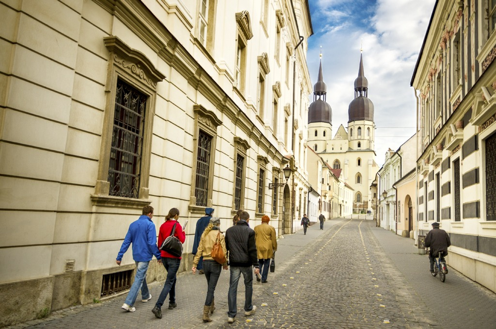 Prehliadky mesta so sprievodcom v Trnave