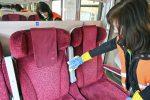 Ďalšie preventívne opatrenia, ktoré podliehajú zvýšenej dezinfekcii, dezinfekcia vlakov