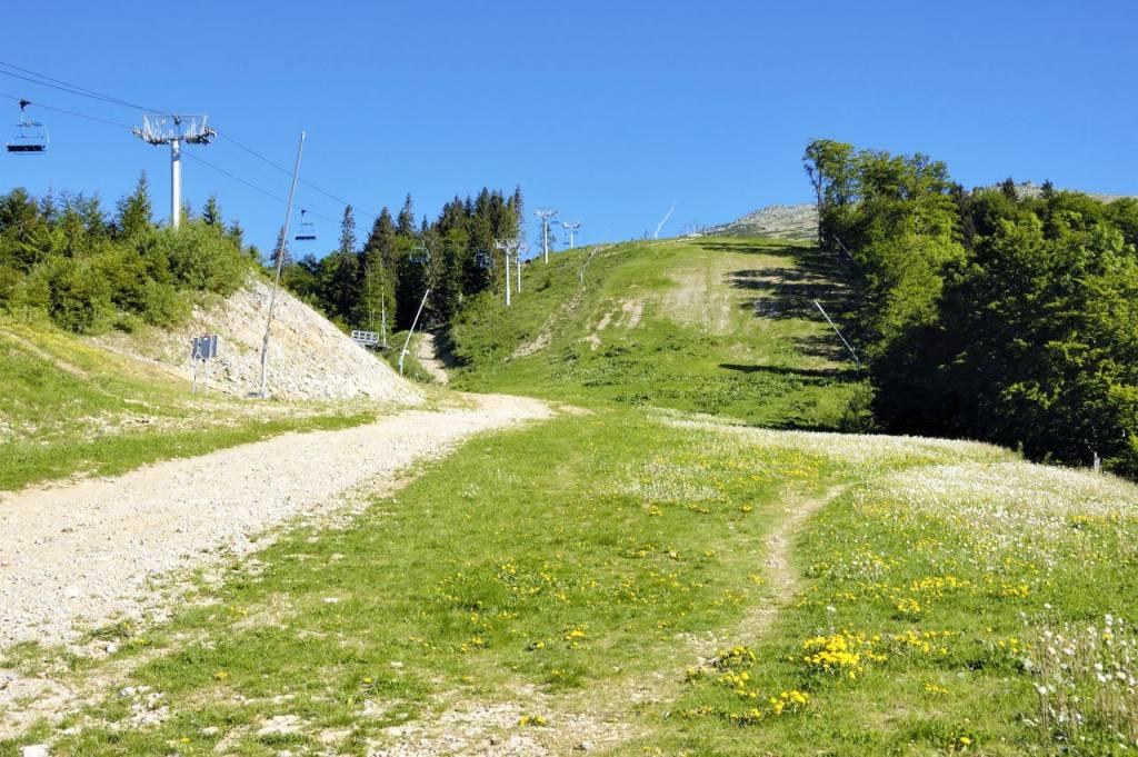 Vydajte sa s nami na Srdiečko, Chopok, Tále a užite si výhľad z Rotundy, Po žltej Na Kosodrevinu