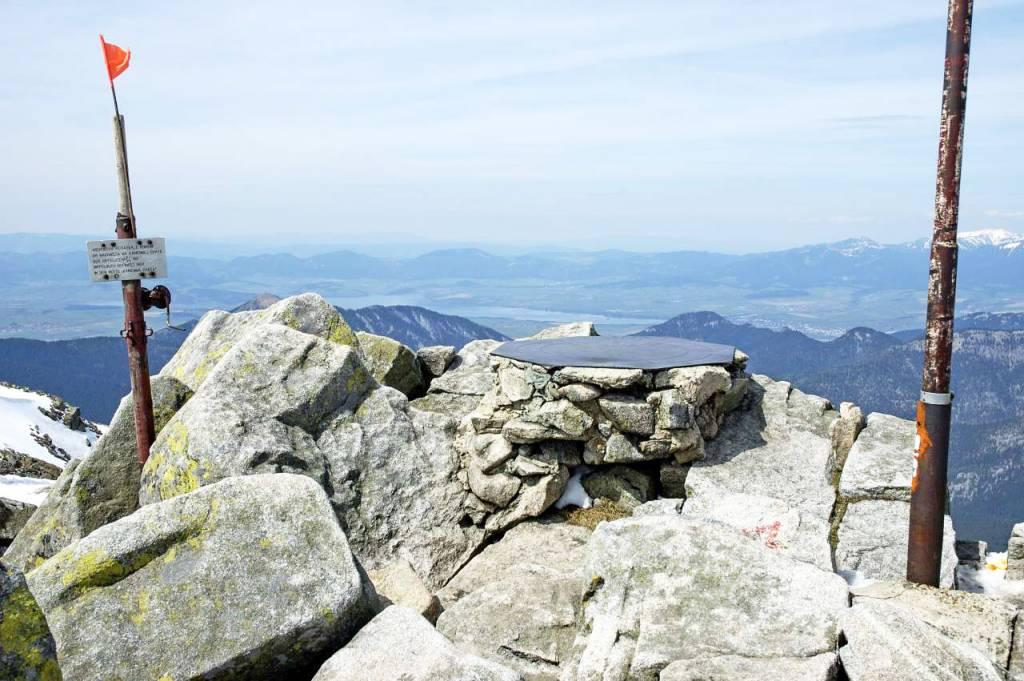 vrchol Chopok 2024 m n. m