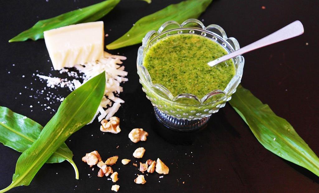 Bylinky a zelené vitamíny na očistu organizmu_Medvedí cesnak