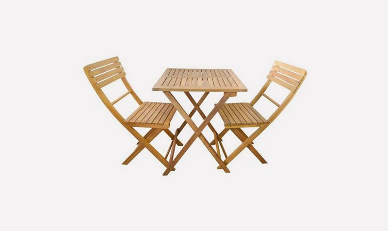 Balkónová relaxácia môže byť dobrý nápad, 4Home, 3-dielny-set-zahradneho-nabytku-Florabest-akacia