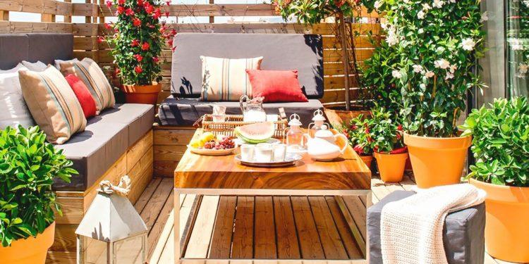 Balkónová relaxácia môže byť dobrý nápad