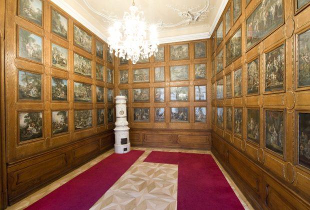 EXPOZÍCIA BAROKOVÉHO UMENIA – VIDEO SPRIEVOD S KURÁTORKOU, Mirbachov palác