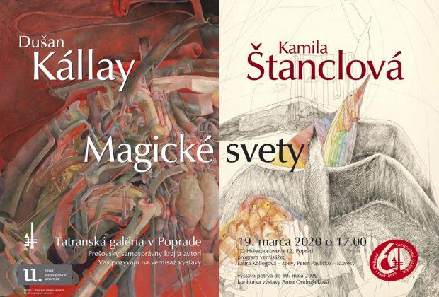 Magické svety Dušana Kállaya a jeho manželky Kamily Štanclovej v Tatranskej galérii