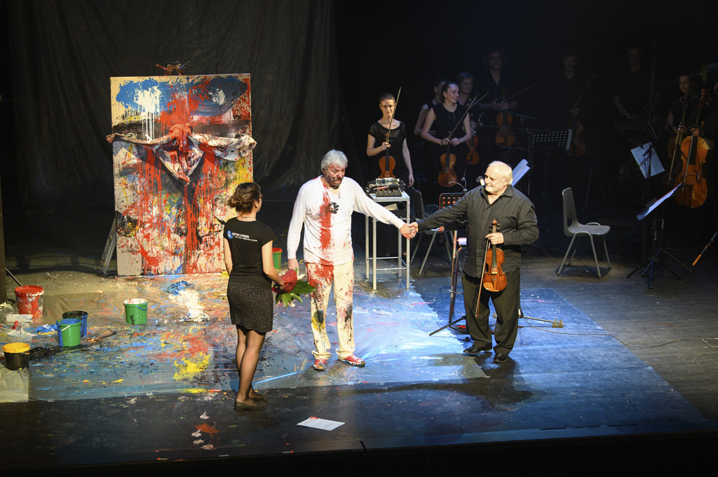 Otvorenie virtuálnej prehliadky výstavy Od stvorenia ku krížu, Juraj Kukura