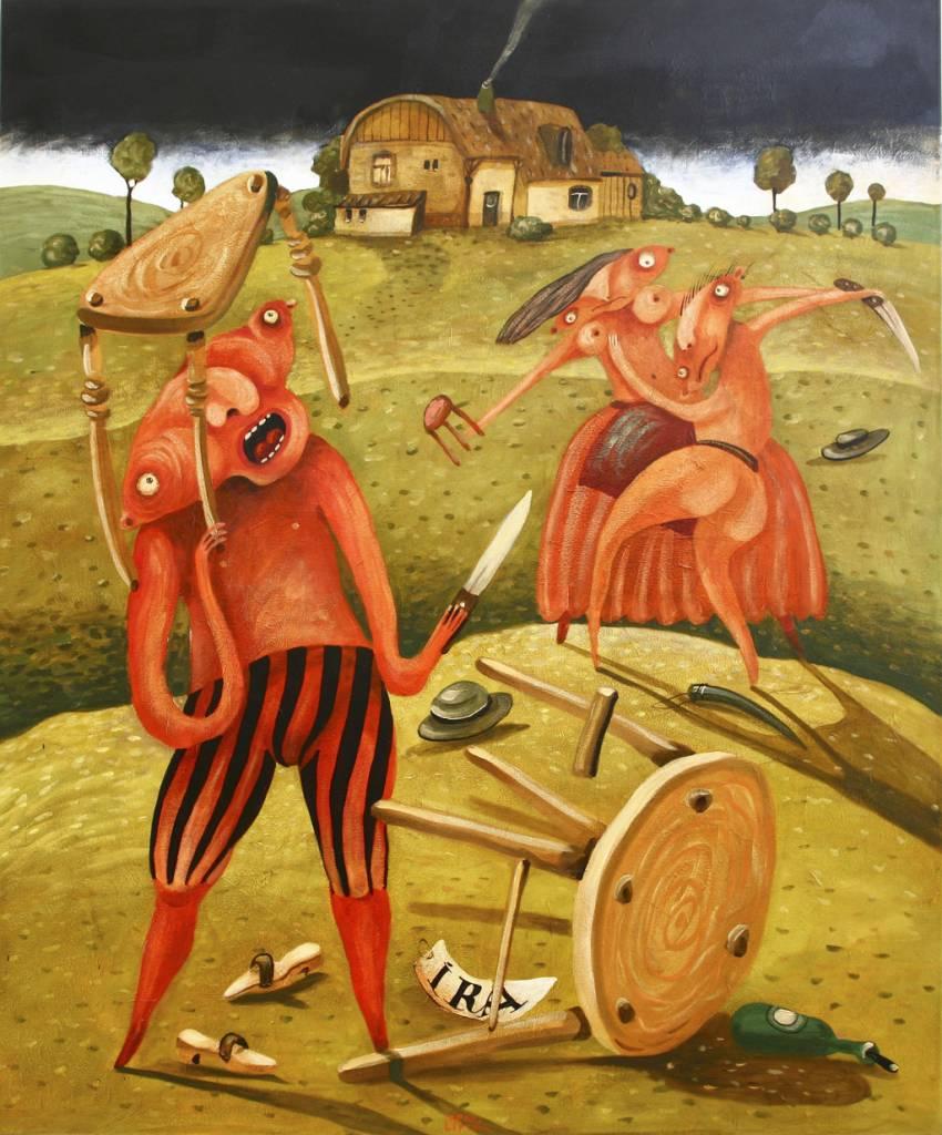 sedem hriechov v podaní Fera Liptáka, 4_hnev, 2011
