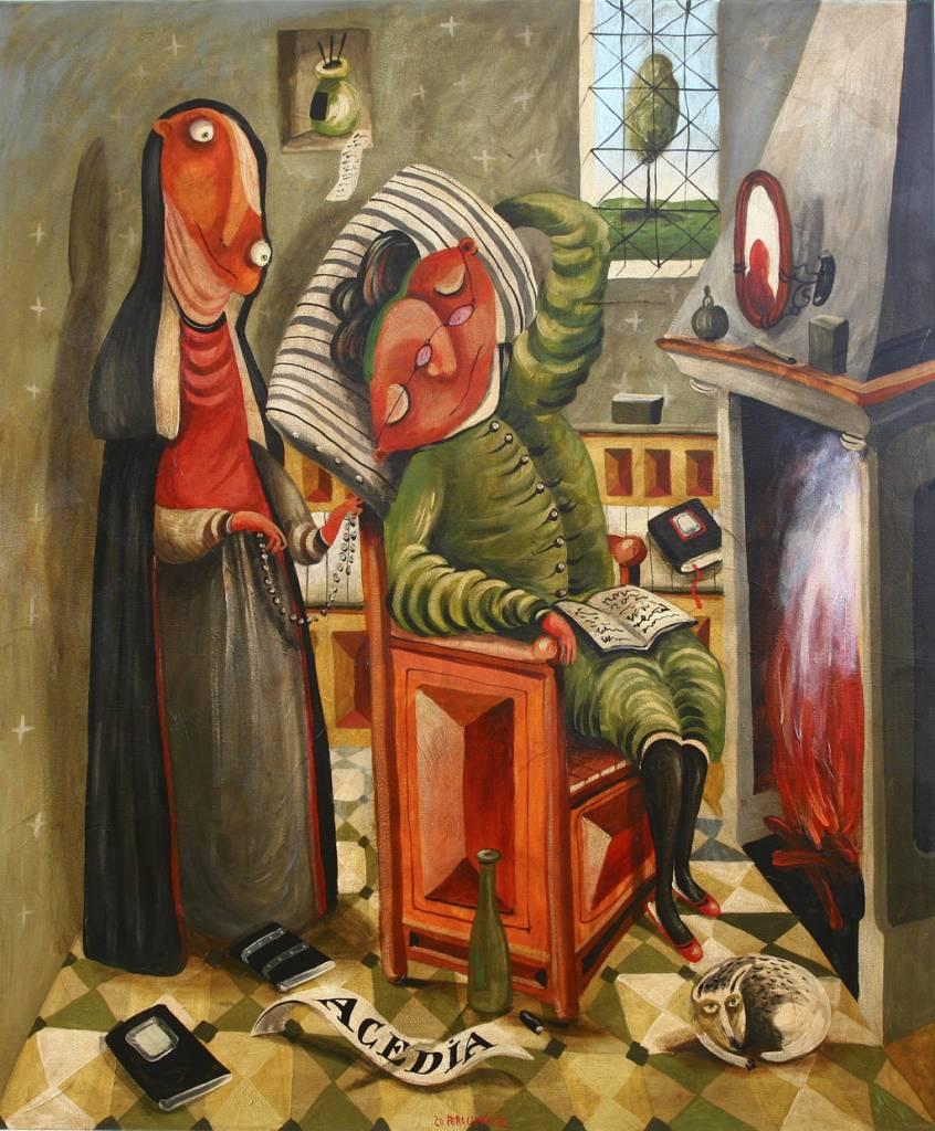 sedem hriechov v podaní Fera Liptáka, 7_lenivosť, 2012