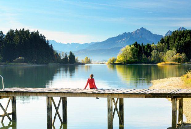 Úspešná kampaň Nemeckej turistickej centrály #DiscoverGermanyFromHome, Bayern_Allgaeu_Forggensee