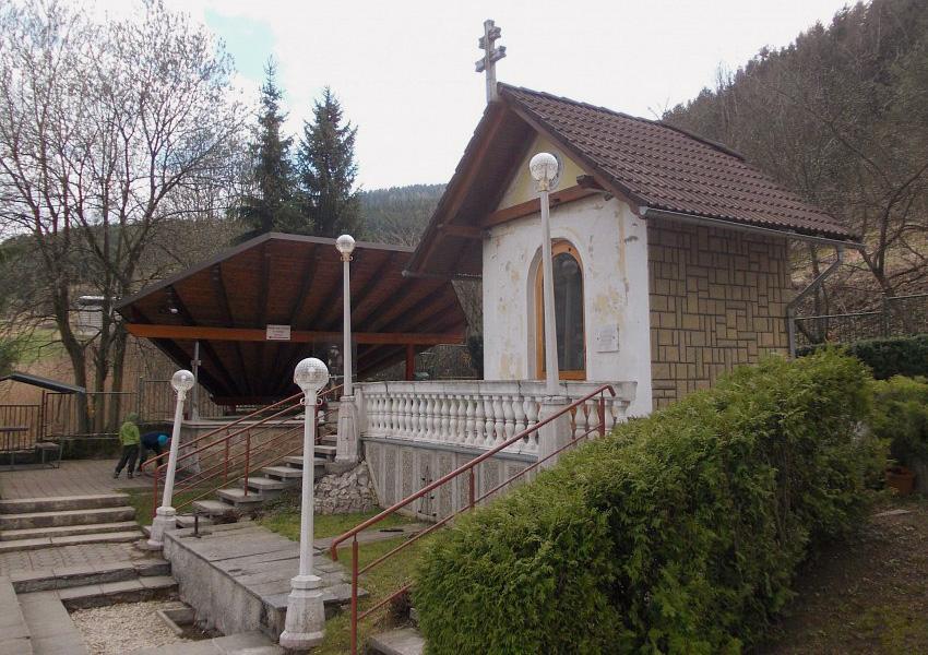 Frívaldská krížová cesta v Rajeckej Lesnej oslavuje 100 rokov od postavenia, Lurdská kaplnka, Rajecká Lesná