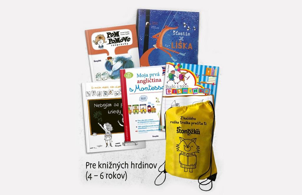 Knižné batôžky, ktoré zabavia deti a pomôžu rodičom , Batoh pre kniznych hrdinov