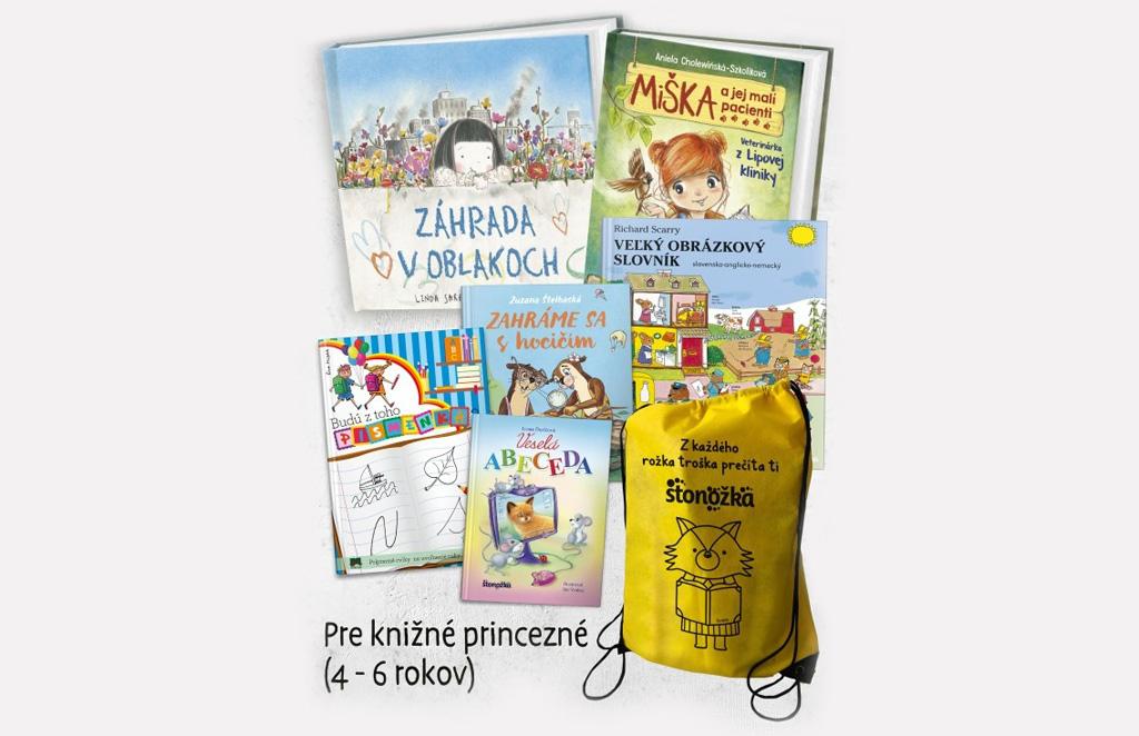 Knižné batôžky, ktoré zabavia deti a pomôžu rodičom, batoh pre knizne princezne
