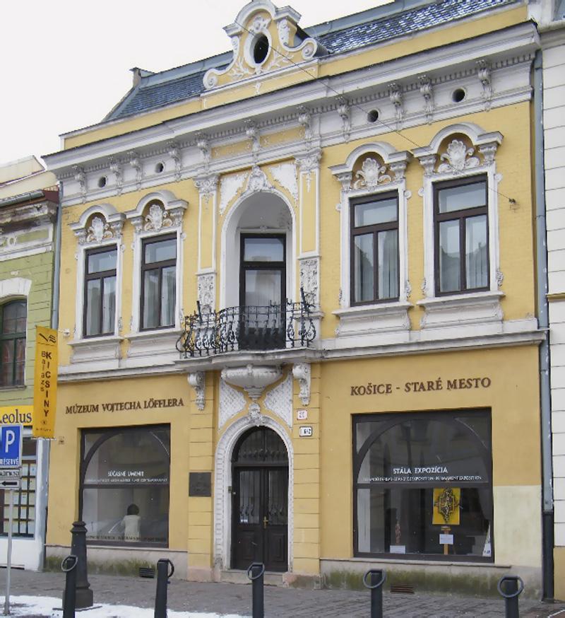 Múzeum Vojtecha Löfflera, Košice - Staré Mesto