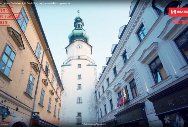 Michalská brána a veža Bratislava