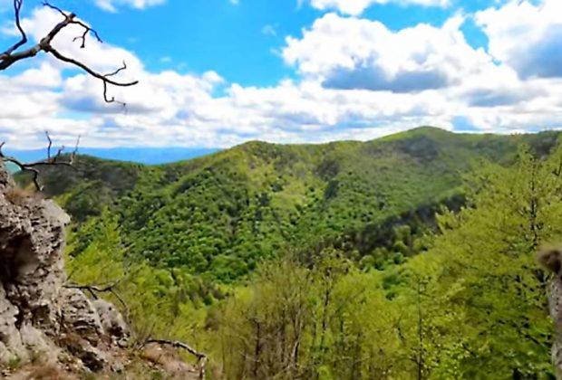 Nitrické vrchy - Žernovská jaskyňa a vrch ROKOŠ