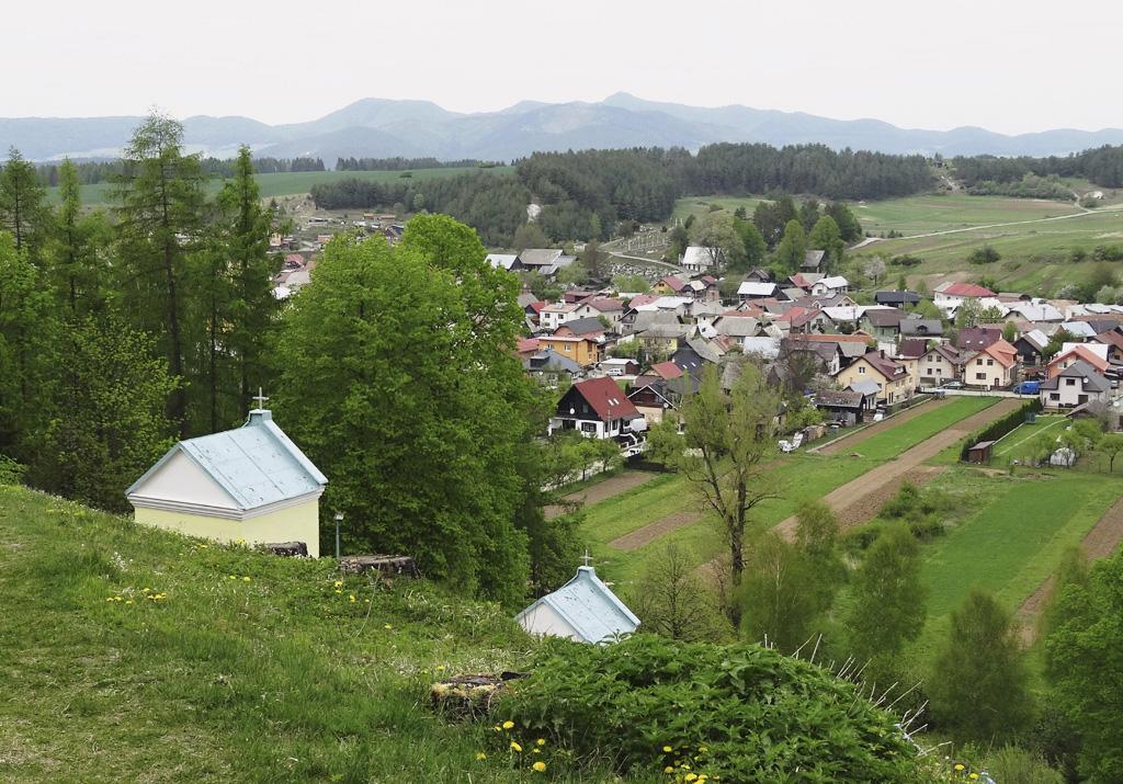 Rajecká Lesná, Pohľad na obec