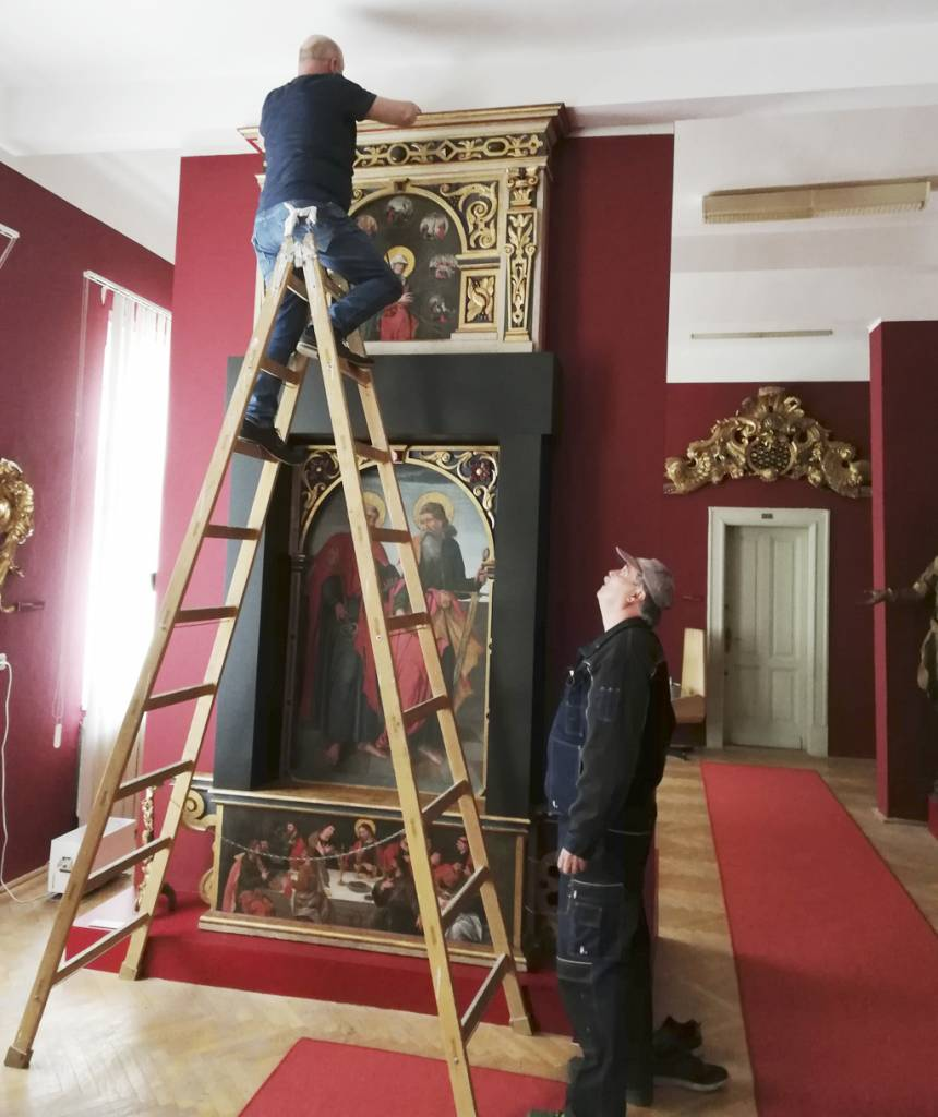 Reštaurovanie jedinečného a vzácneho oltára sv. Petra a sv. Pavla, Východoslovenské múzeum