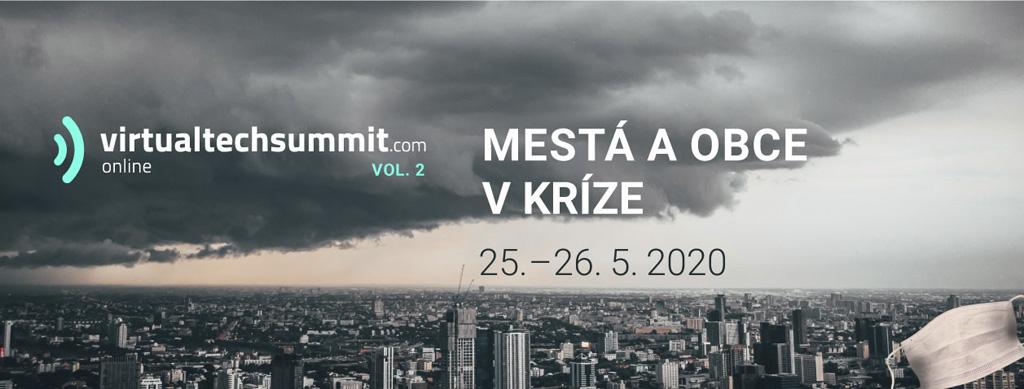 Virtualtechsummit vytvoril platformu pre najväčšie krízové virtuálne stretnutie municipalít Európy a Slovenska v histórii