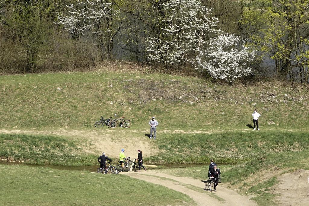 Vyberte sa s nami na pešiu túru do prírody v okolí Trenčína, Cyklisti