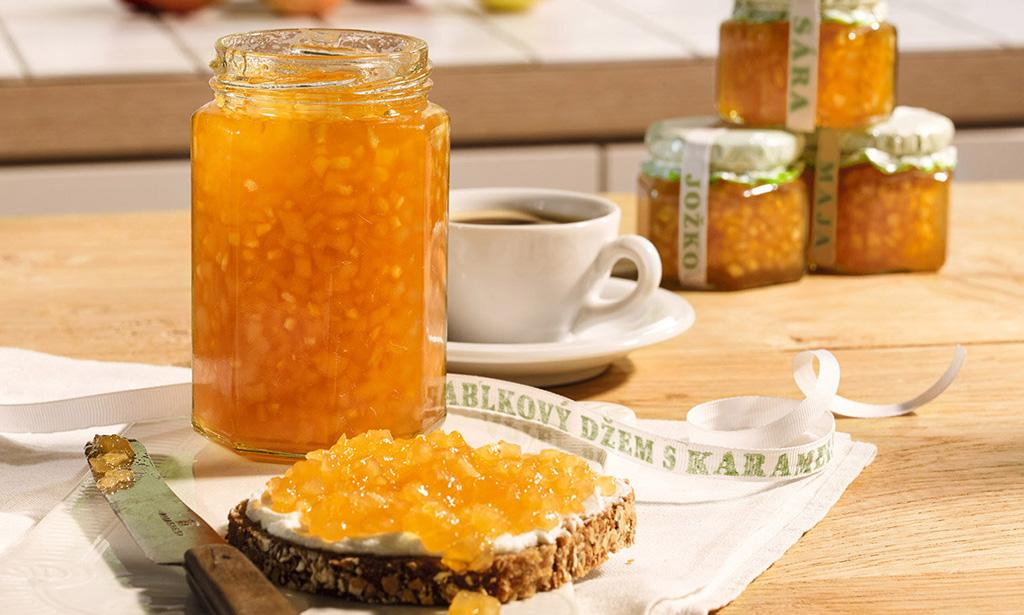 Želírujte na MAXImum vďaka novej, väčšej Kyseline citrónovej Dr. Oekter!, hruskovo-jablkovy-dzem-s-karamelom