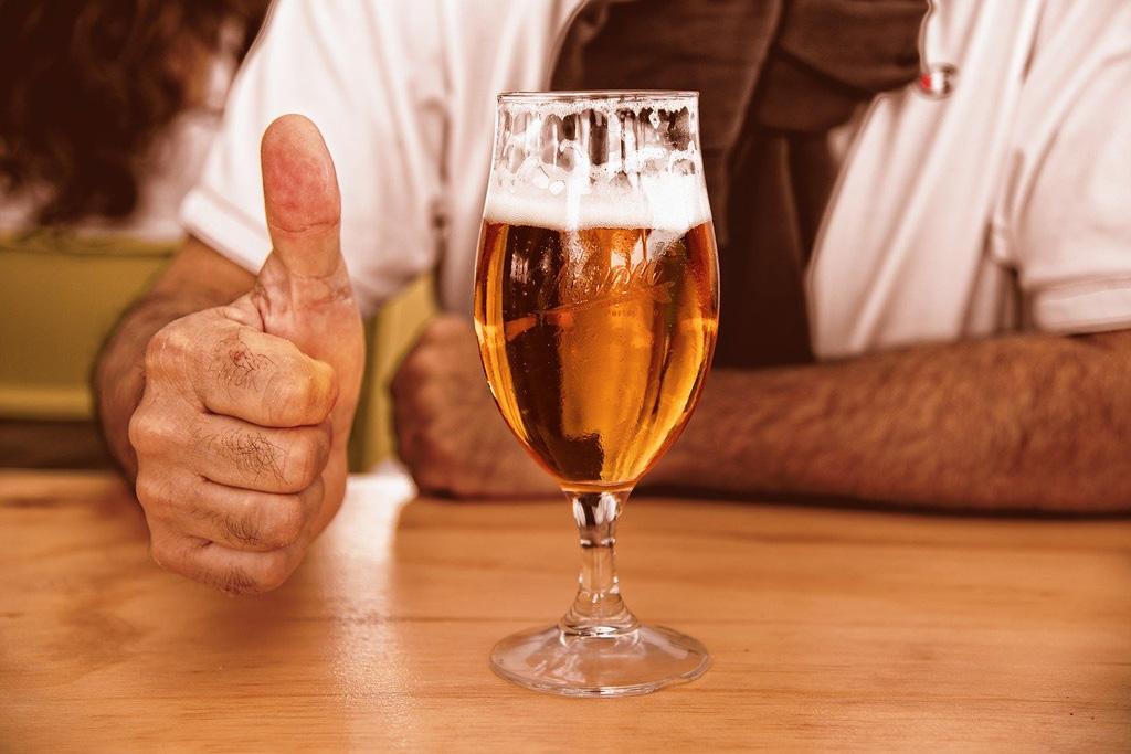 Alkohol, mytus okolo piva